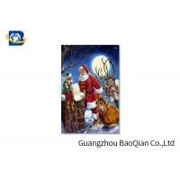 Wholesale 3D Craft Lenticular Christmas Cards , Interactive Greeting CardsRegular Size from china suppliers