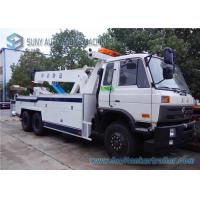 Buy cheap Power Dongfeng Independent 6X4 Road Wrecker Tow Truck Cummins 260 Hp Engine from wholesalers