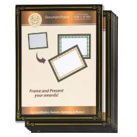 Buy cheap 6 Packs 8.5x11 Certificate Document Frame , Paper / Plastic Award Certificate Frames from wholesalers