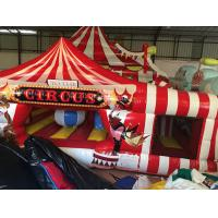 Buy cheap Large Inflatable Fun City Cute Circus Clown Jumping House For Toddler from wholesalers
