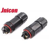 Screw Terminal Aviation Waterproof Wire Connectors , Cable To Cable Circle Wire Connector