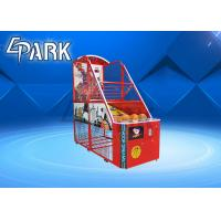 Buy cheap Fun Exercise Game Arcade Basketball Machine For Shopping Mall Easy To Move from wholesalers