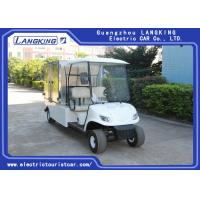Buy cheap 24km/H 2 Passenger Golf Cart , Enclosed Cargo Box Golf Cart 15% Climbing Ability from wholesalers
