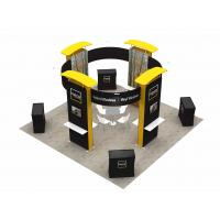 6X6 M Trade Show Exhibits Displays Eco Friendly Grafics Wrinkle Free Easy Assemble for sale