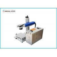 China 20w 30w Paper Rubber Ceramic Jeans Co2 Laser Marking System With Conveyor Belt on sale