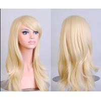 Buy cheap 32 Humen Synthetic  Wigs Normal Lace Single Bleached Knots from wholesalers