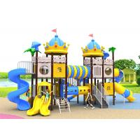 Buy cheap Anti - Static Toddler Playground Sets , Kids Plastic Swing Set Aisi 304 Fasteners from wholesalers