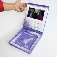 Buy cheap business advertising electronic 4.3inch video booklet with USB cable , video from wholesalers