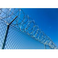 Buy cheap Security Galvanized Steel razor barbed wire fence , razor sharp wire ISO from wholesalers