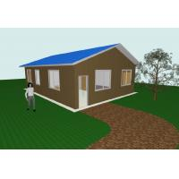 Buy cheap Modern Flat Pack 3 Bedroom House Plans Modular Homes For Guard House , Shop from wholesalers