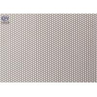 Buy cheap Round Micro Hole Perforated Metal Sheet , Metal Mesh Panels For Filter Screen from wholesalers