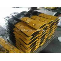 Buy cheap Traffic Recycled Portable Rubber Speed Humps / Safety Parking Lot Speed Bumps from wholesalers