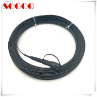 Wholesale MINI SC CPRI Fiber Cable Waterproof FTTA Patch Cord Environmental Seal Mechanical Protection from china suppliers