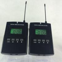Wholesale Portable 008C Wireless Audio Guide System 800Mhz Tour Guide Device CE / ROHS Certification from china suppliers