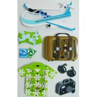 Buy cheap Waterproof Travel Design Handmade 3D Stickers Colorful For Kids Funny Toys from wholesalers