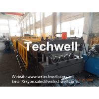 Easy Operation Customized Steel Metal Sheet Decking Floor Roll Forming Machine With PLC Control System Manufactures