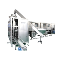 Buy cheap Automatic 5 Gallon Mineral Water Bottling Machine / 20L Bottling Water Production Line from wholesalers