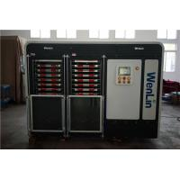 Auto Transfer pvc card lamination machine 7 Daylights with Four Hydraulic Cylinders