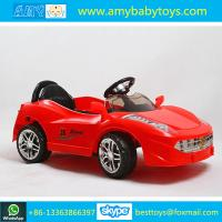 Buy cheap The Red Plastic Children Ride On Car With Best Quality And Competitive Price For Selling from wholesalers