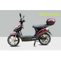 Buy cheap Red 16 Pedal Assisted Electric Scooter 500W 48V Hydraulic Disc Brakes power assisted bicycle Canadian standard from wholesalers