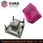 Buy cheap EURA Zhejiang Taizhou plastic fruit crate injection mold making from wholesalers