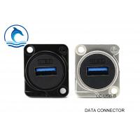 Wholesale USB 3.0 Digital Data Connector Female Feed Through Data Connector LC-USB-B from china suppliers