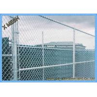 Buy cheap 11.5 Ga (0.11) Us Standard Galvanized black chain link fence from wholesalers