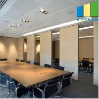 Buy cheap Customized Melamine Multi - Coulor Office Folding Partition Walls Room Dividers from wholesalers