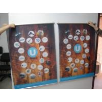 Buy cheap Large Format Hanging Digital Fabric Banners Printing Colored For UV Printing from wholesalers