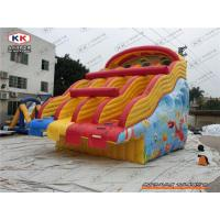 China Inflatable Double Lane Water Slide Pool Sport Equipment Customized on sale