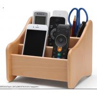 Buy cheap Decorative Wood  Desk Organizer For Home Remote Controls / Phone from wholesalers