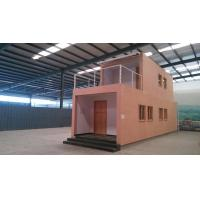 Buy cheap Energy Saving Prefab Container Homes / WPC House For Workshop Storage from wholesalers