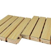 Buy cheap Fireproof Groove Sound Proof Wooden Acoustic Decorative Wall Panels from wholesalers