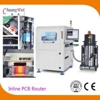 Automatic Production Mode Inline PCB Separators With Automatic Tool Changer Manufactures