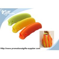 Buy cheap Silicone orange, green Customized Promotional Gifts shopping bag holder from wholesalers
