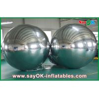 Buy cheap Large Inflatable PVC Mirror Ball Customized Size For Event Decoration from wholesalers