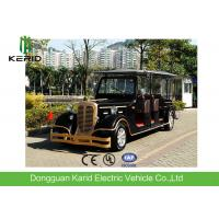 Buy cheap Comfortable 11 Seats Pure Electric Vintage Cars Tourist Vehicles With AC System from wholesalers
