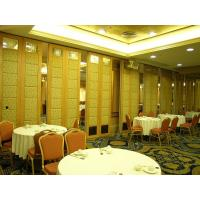 Buy cheap Sound Insulation Fabric Leather Movable Partition Door / Foldable Room Divider from wholesalers