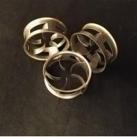 Buy cheap Metal Random Packing Stainless Steel SS304 Cascade Ring 25mm, 38mm, 50mm from wholesalers