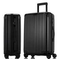Wholesale 28 Inch PC ODM Black 4 Wheel Trolley Luggage from china suppliers