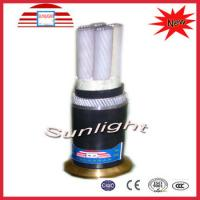 Buy cheap CE , TLC Electric Wire Cable / XLPE Low Voltage Underground Power Cable from wholesalers