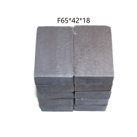 Buy cheap Customized permanent square ceramic ferrite magnet from wholesalers
