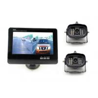 Buy cheap 2 channels 2 camera waterproof van / trailer wireless car backup camera with 7 inch monitor from wholesalers