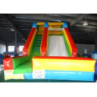 Wholesale Ground Kids Indoor & Outdoor Inflatable Dry slide Jumping Bouncer Slide With Ladder from china suppliers