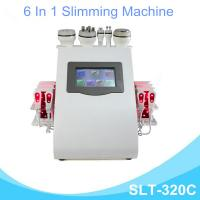 Buy cheap 6 In 1 Lipo Laser Slimming Machine , Vaccum Cavitation RF Fat Removal Device from wholesalers