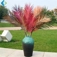 Wholesale Plastic Artificial Coconut Palm Leaves For Garden Landscaping Decoration from china suppliers