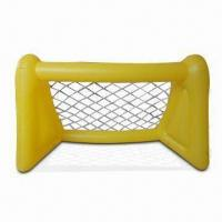 Wholesale Inflatable Yellow Goal with 0.2 to 0.25mm Thicknesses, Suitable for Football Games, Promotions from china suppliers