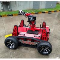 Buy cheap Fire fighting robot  applied DC motor with large capacity battery type, modular distributed control design from wholesalers