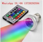 Buy cheap led magic bulbs light E27 remote control RGB led lighting 3w screw led bulbs from wholesalers