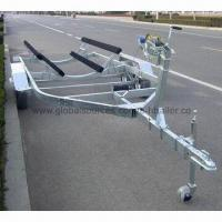 Buy cheap Trailer with Hot-dip Galvanized Steel Frame, Measures 7,400 x 2,450mm from wholesalers